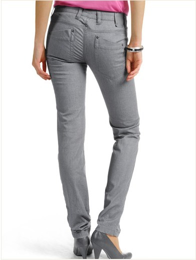 Fashion grey jeans LD016