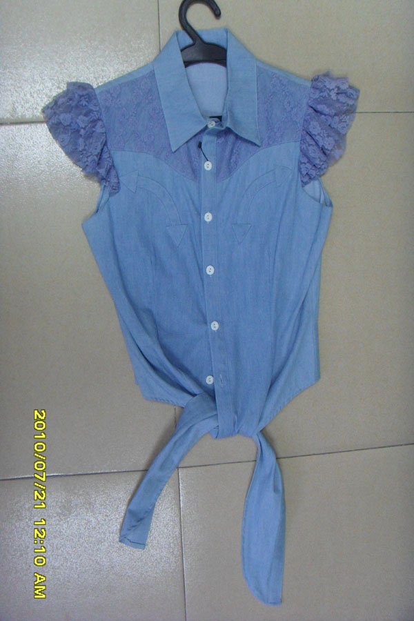 hot sell jeans shirts   LT9001