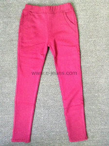 2014-Womens-Fashion Pink-Pants-New-Style-Casual-Cotton-Long-Pants